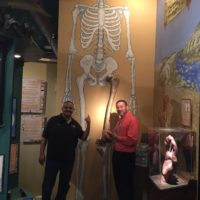Cristino And DJ Taz At The Discovery Center